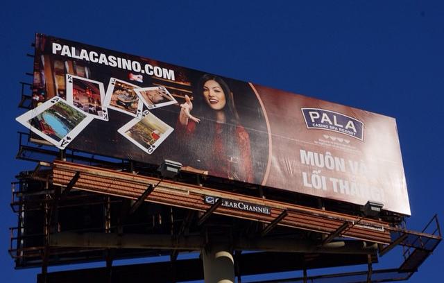 Pala Casino Billboard Isabelle Du