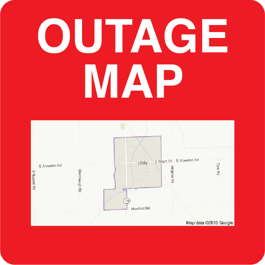 Outage Map See a map showing the current power outages.