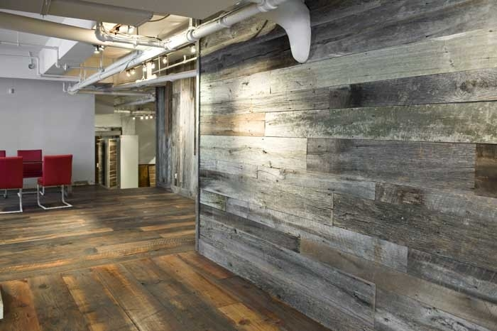 wallpaper that looks like wood cladding