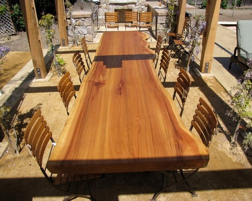 Woodstock has many slabs in stock, including oak, walnut and cherry!
