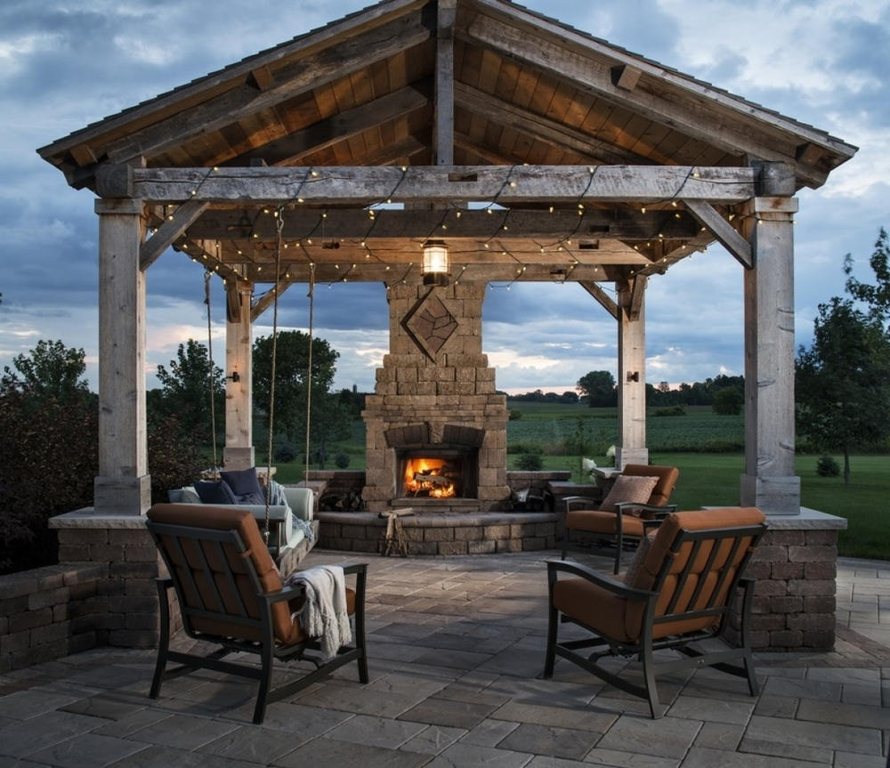 Woodstock Architectural Products has a large selection of hand-hewn beams in stock!