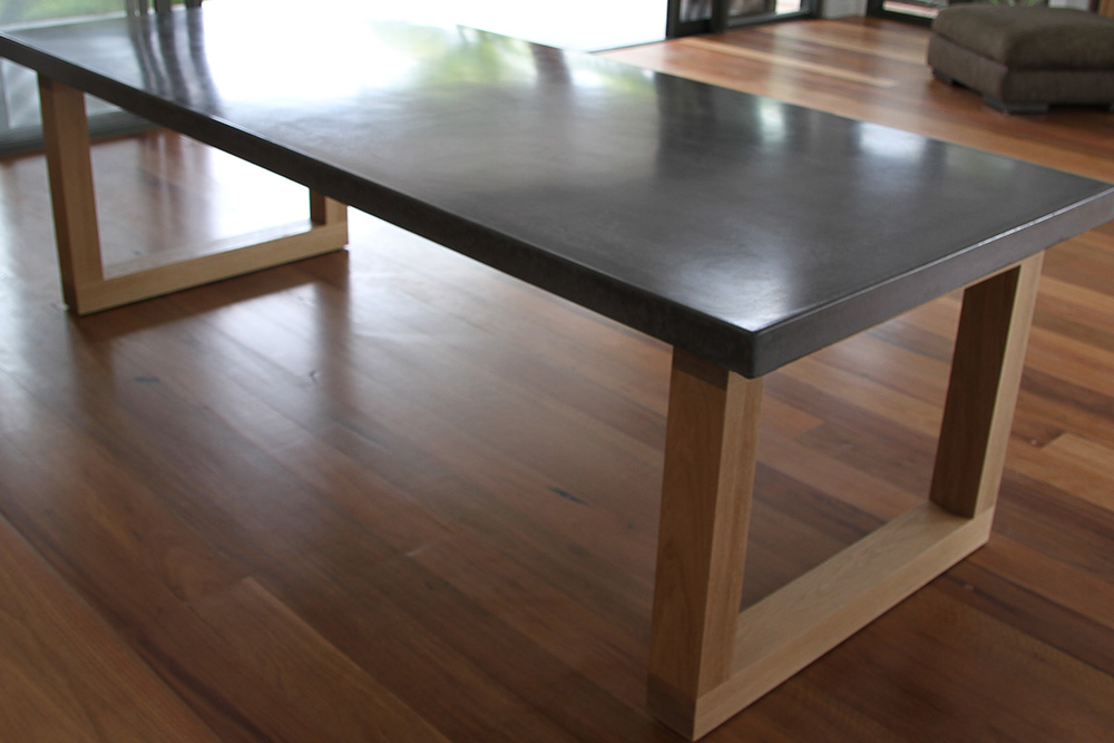 Woodstock architectural productsconcrete and wood a for Table for 6 brisbane
