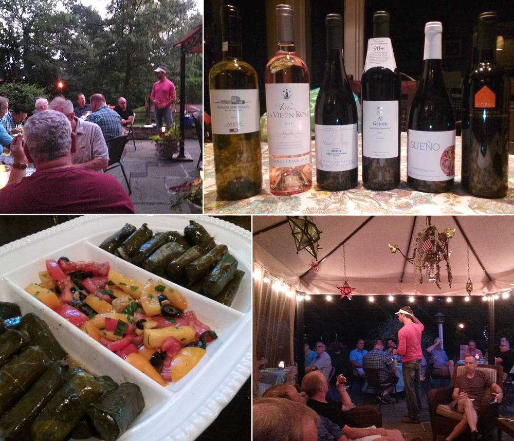 A Wine Living tasting event isn't just about pouring some wines for you - it's a custom-made, private party that centers around wine and food.