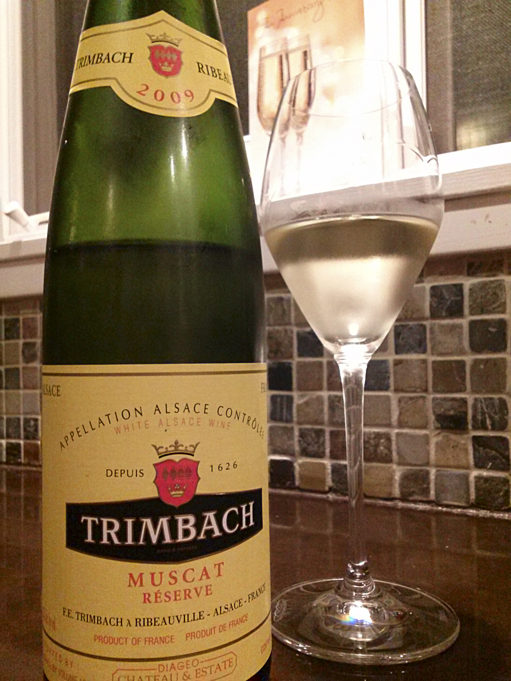 A beautiful example of what Muscat can do when you treat it with love andrespect… from Trimbach.