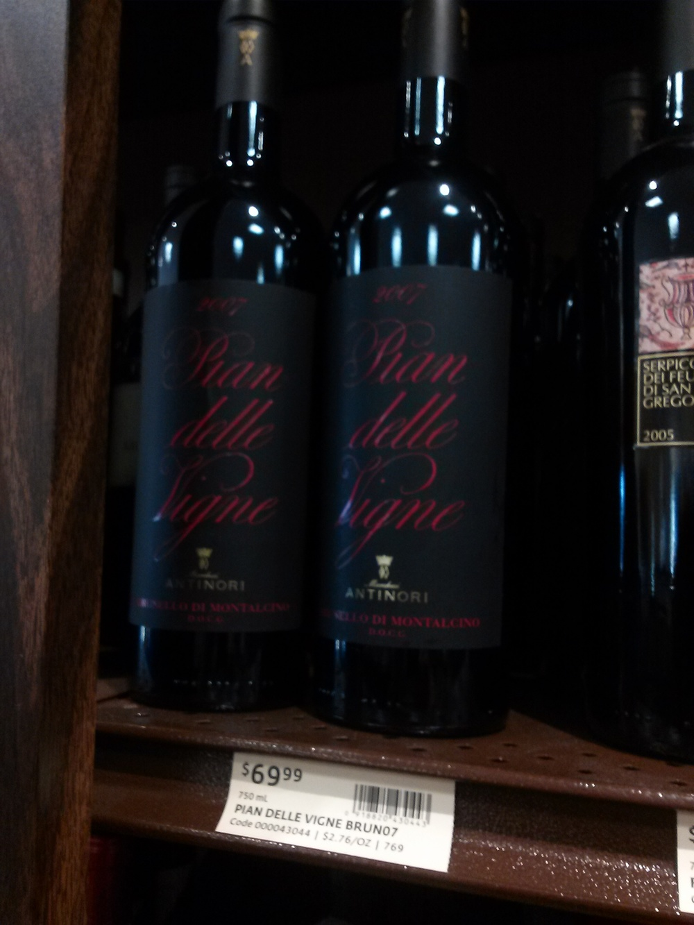 $70 for a wine that has been standing up on a shelf for who knows how long? No thanks.