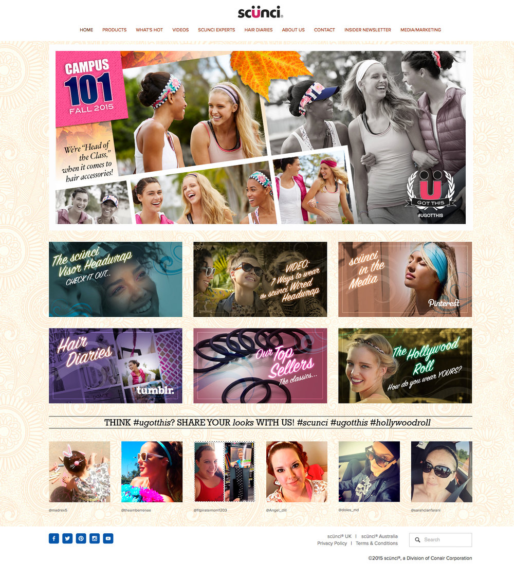 scünci Web Home Page