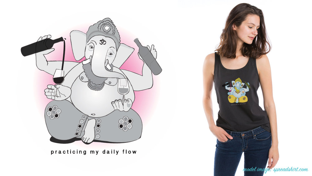 Daily Flow Yoga & Wine Tees