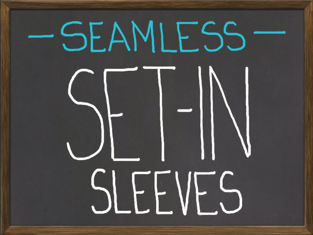 calculating seamless set in sleeves