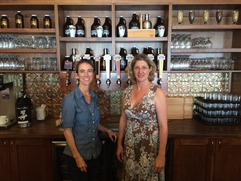 Founders & Co-OWNERs Kristin Smith and Sarah Dinning