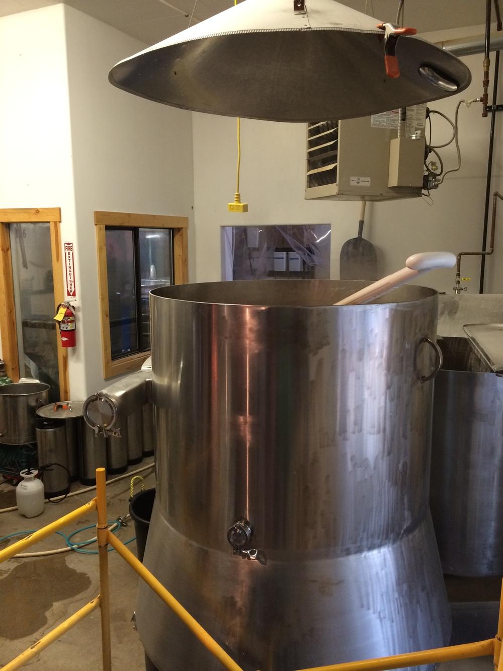 brewing area