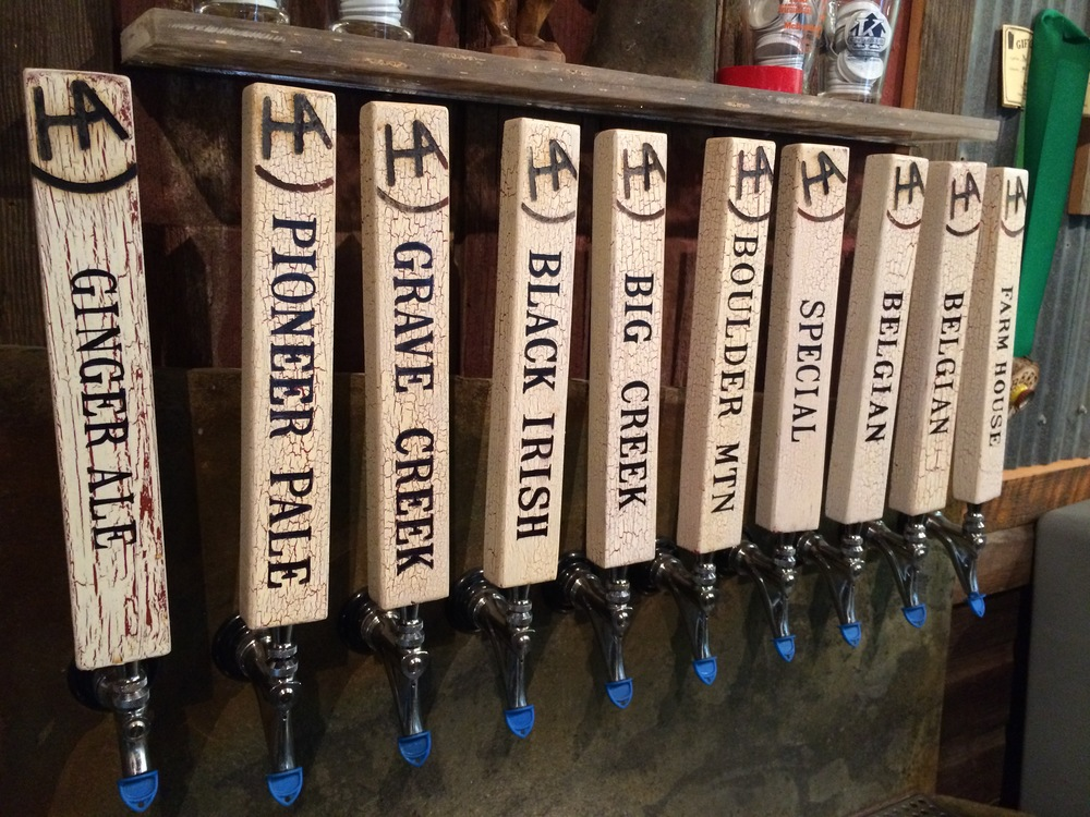 current tap selection