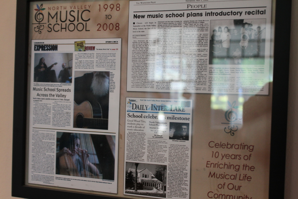 tHE nORTH vALLEY MUSIC SCHOOL IS CURRENTLY IN ITS SEVENTEENTH YEAR OF OPERATION