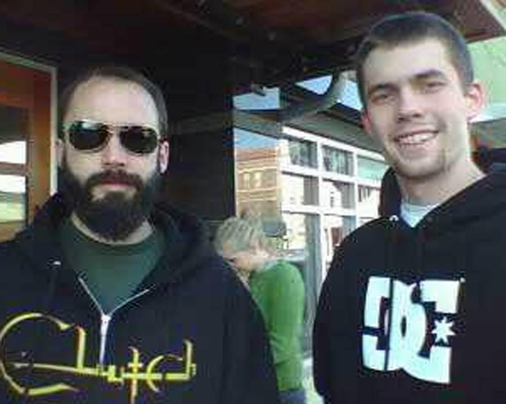 Justin phillips(RIGHT) with Neil Fallon(LEFT), the lead singer for clutch