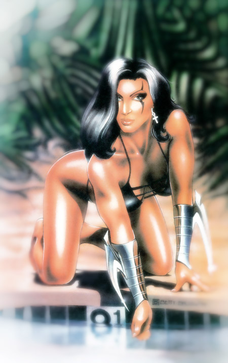 """Razor"" Swimsuit special Edition #1 - 1995 for London Night Studios"