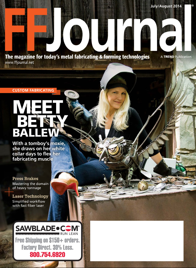 """""""FFJournal"""" - Cover and Feature Article - July August 2014   http://onlinedigitalpubs.com/publication/?i=218358&p=1"""