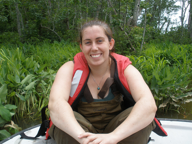 Amy Jenkins, M.S. Biology, 2010
