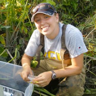 Jaimie Gillespie, M.S. Biology, 2013