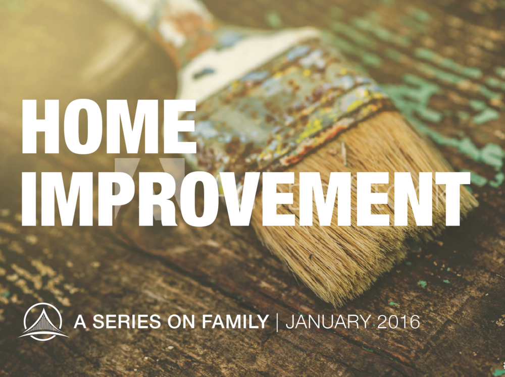 Whether you're a sibling, spouse, or child, parent, cousin, grandparent or in-law, you can be a part of your home renovation.  Listen to this series  from January 2016 and discover that all it takes is the right tools to make change happen in your family.
