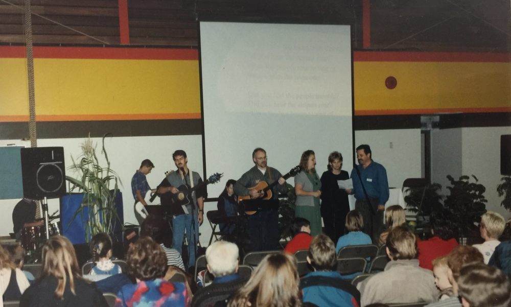 Church Service in Rose Valley Elementary