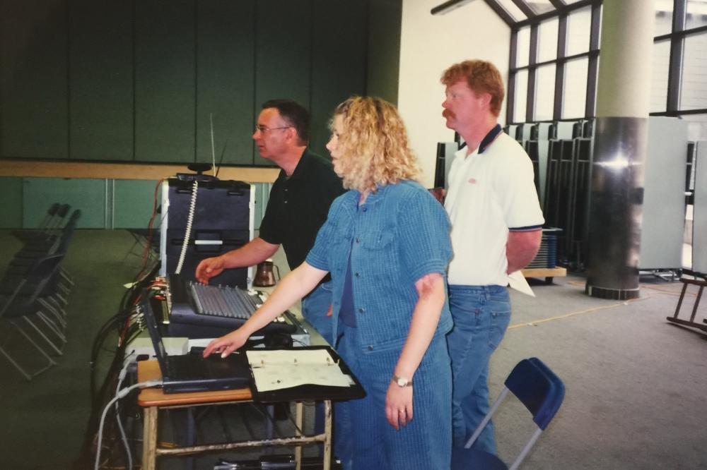 The media team at SunRidge, Mt. Bourcherie