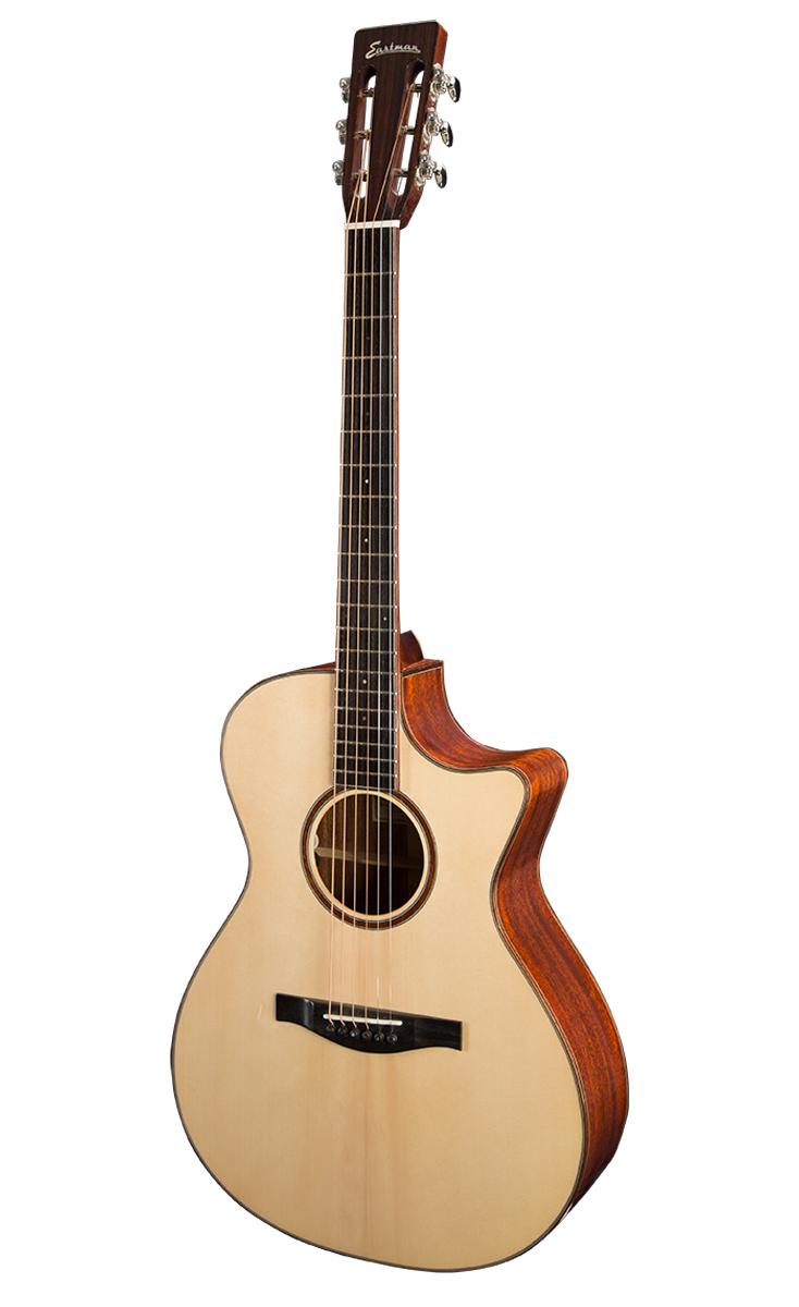 GRAND CONCERT Eastman Grand Concert acoustics feature a balanced tone making them an ideal choice for amplified live performance and recording studio work. Grand Concerts are equally at home with lead playing & accompaniment roles.