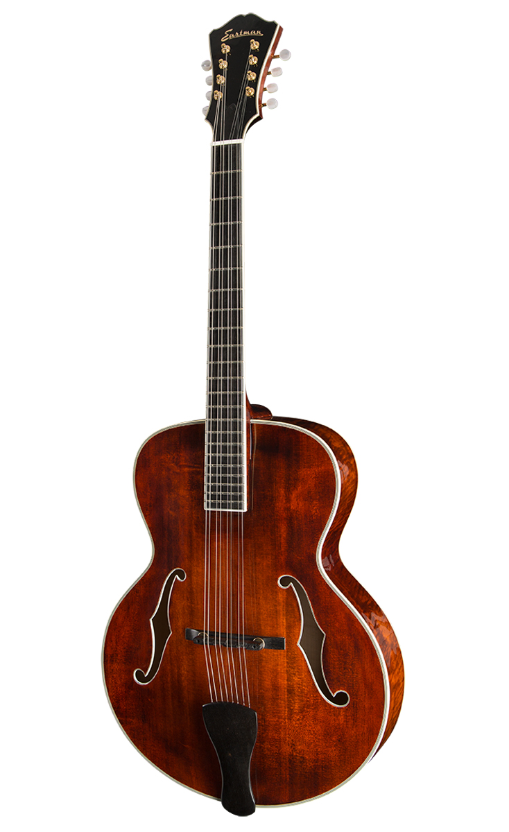 MANDOLIN FAMILY MODELS Classic recreations of the great mandolas and mandocellos from the Golden Age of Mandolins, these rare instruments are crafted to inspire a new generation of artists.