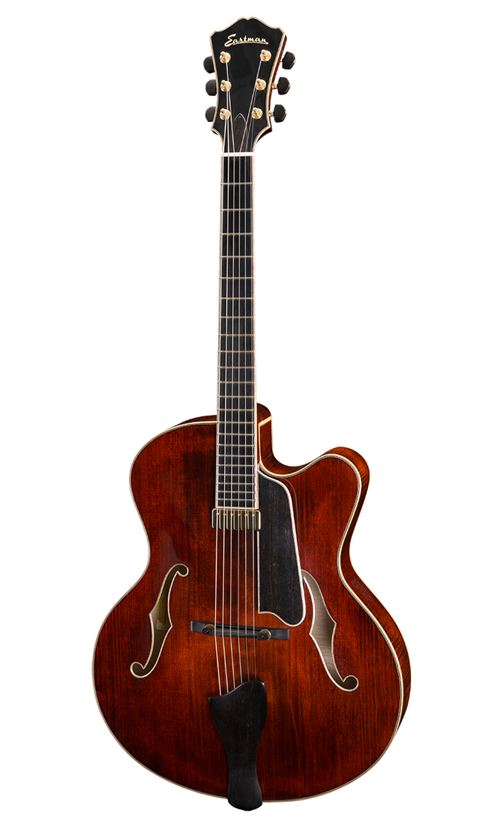ARCHTOPS Premium tonewoods and meticulous craftsmanship form a harmonious relationship that has established Eastman as a major force in the world of jazz guitar.