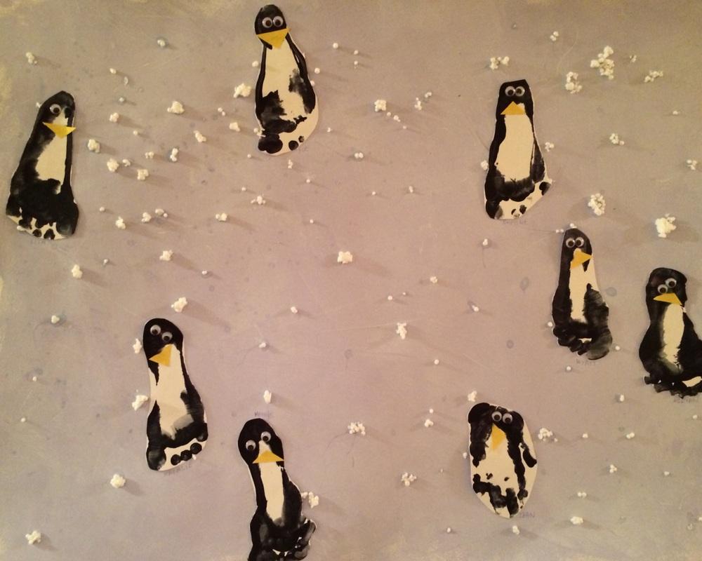 Projet de groupe Petite Section : Les pingouins