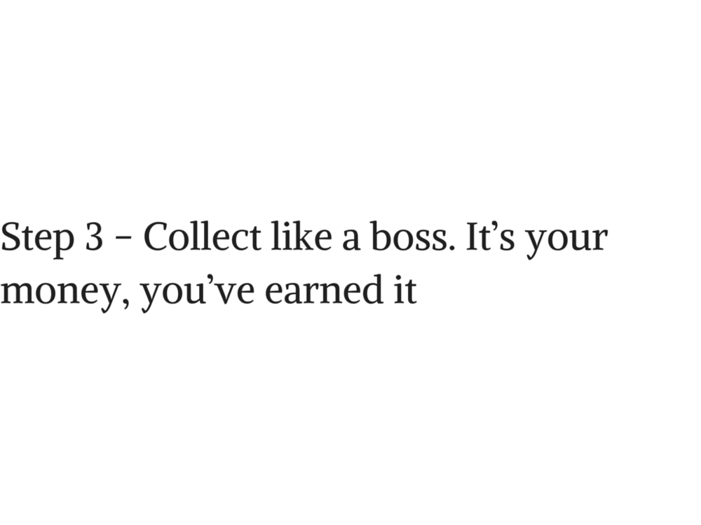 Step 3 - Collect like a boss. It's your.png