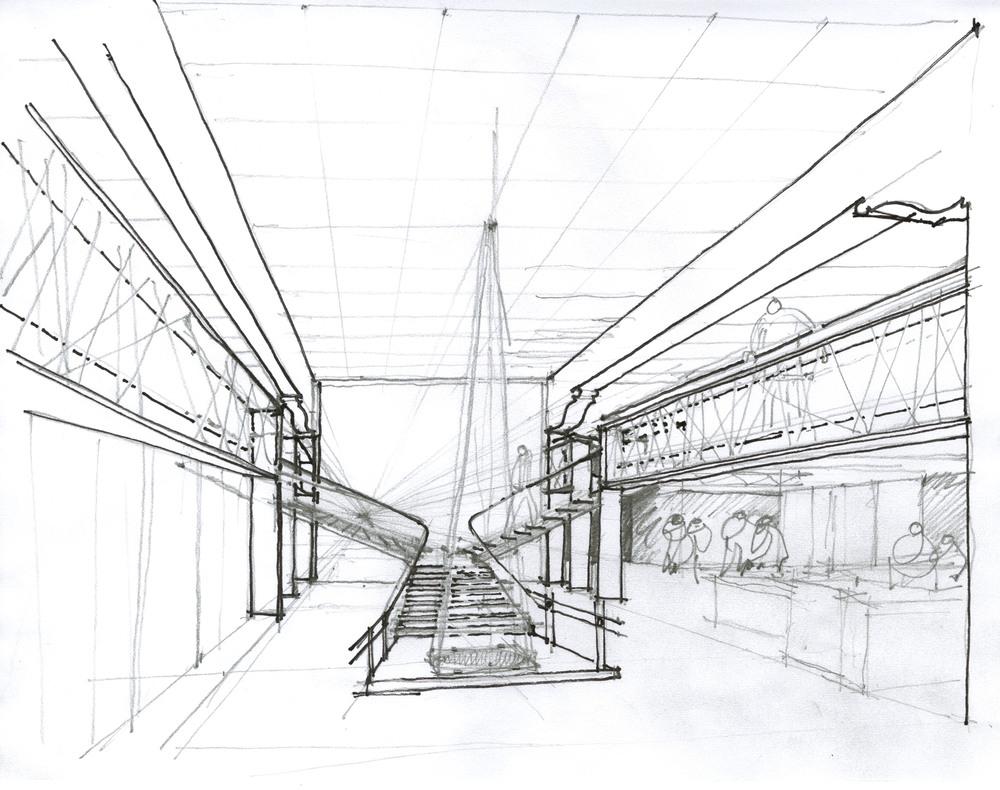railing study