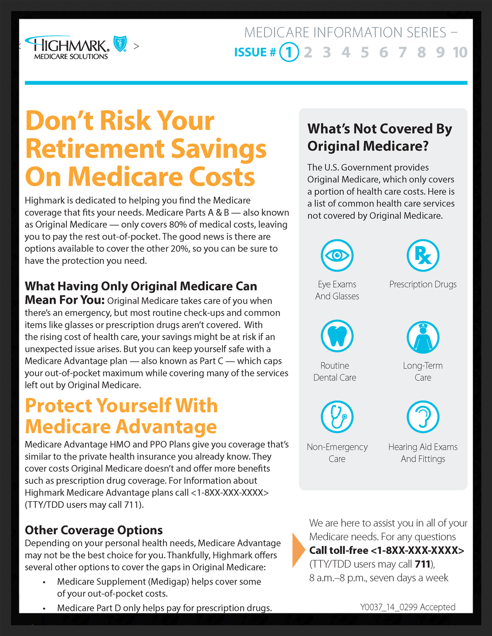 Email Marketing Info Guide Series for Highmark Blue Cross/Blue Shield