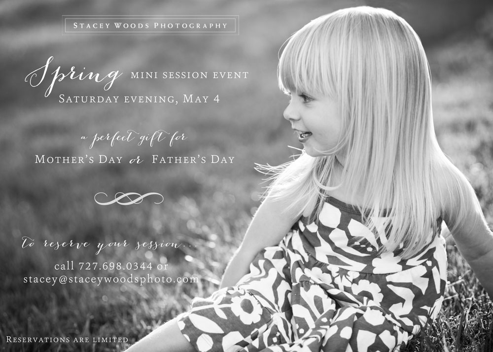 Stacey Woods Mini-Sessions Spring 2013