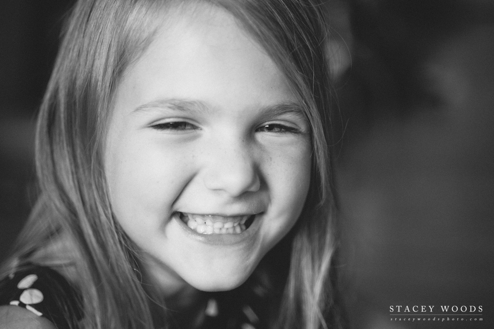 Stacey Woods, black and white family photographer