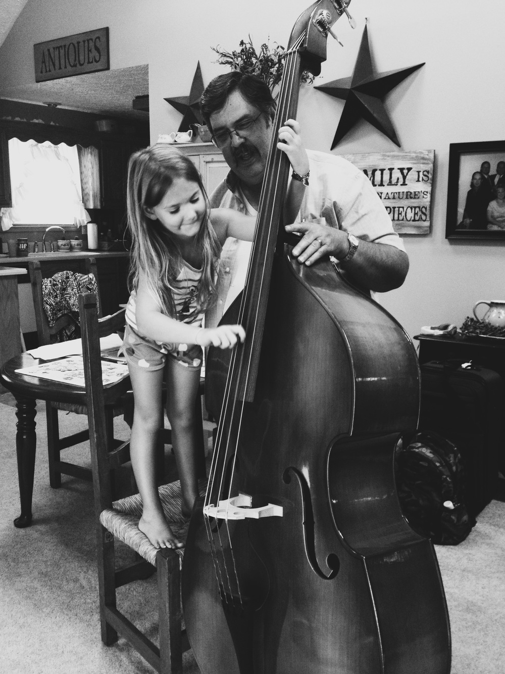 Music Lessons: Upright Bass, by Stacey Woods