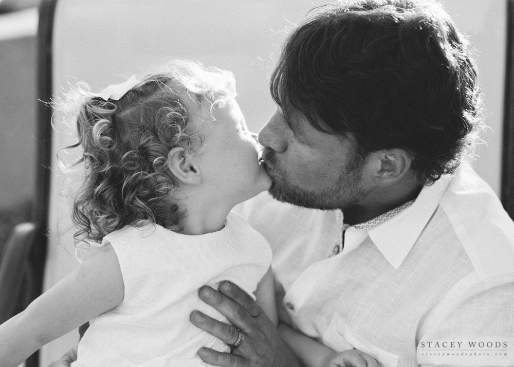 Kisses from Daddy, by Stacey Woods