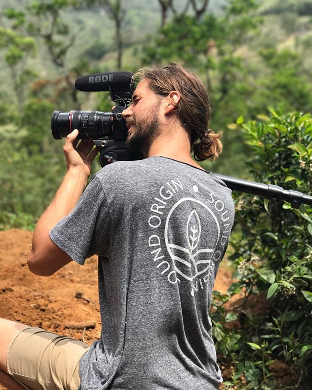 @miahidema constantly behind a camera, capturing all that went down 1 hour away from San Felix, Panama for the upcoming documentary. . . . 📸@brittalalena #panama #project #photo #documentary #documentarylife #coffee #travel #coffeelove #camping #fortheloveofcoffee