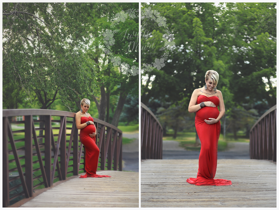 Red Dress Maternity |Twyla Dawn Photography.jpg