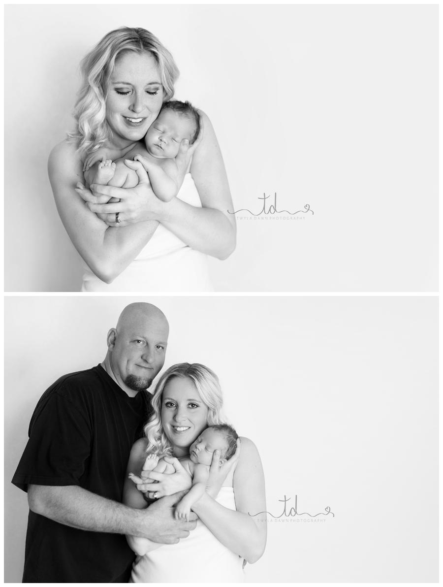 heber city utah newborn photographer parent posing