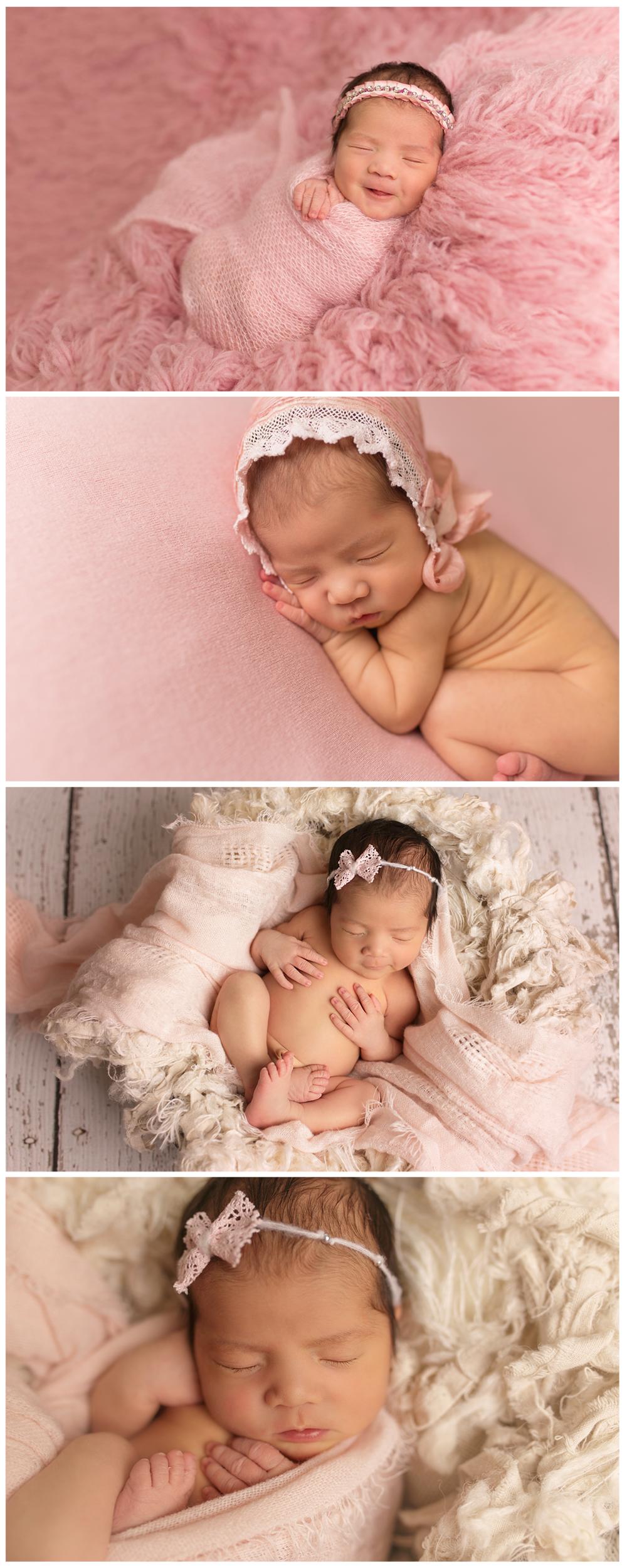 Pink Newborn Session #Utahnewbornphotographer #HeberUtahNewbornphotographer #twyladawnphotography