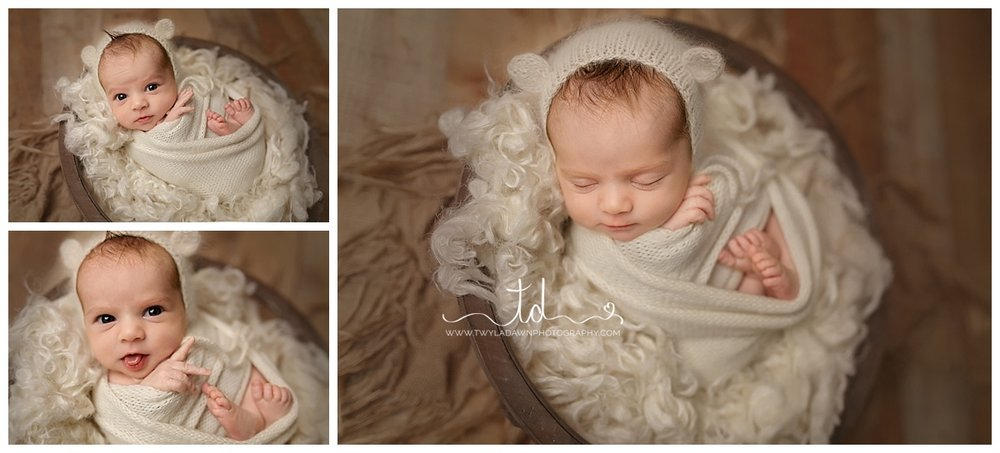 Baby in a bowl | Utah Baby Pictures #twyladawnphotography