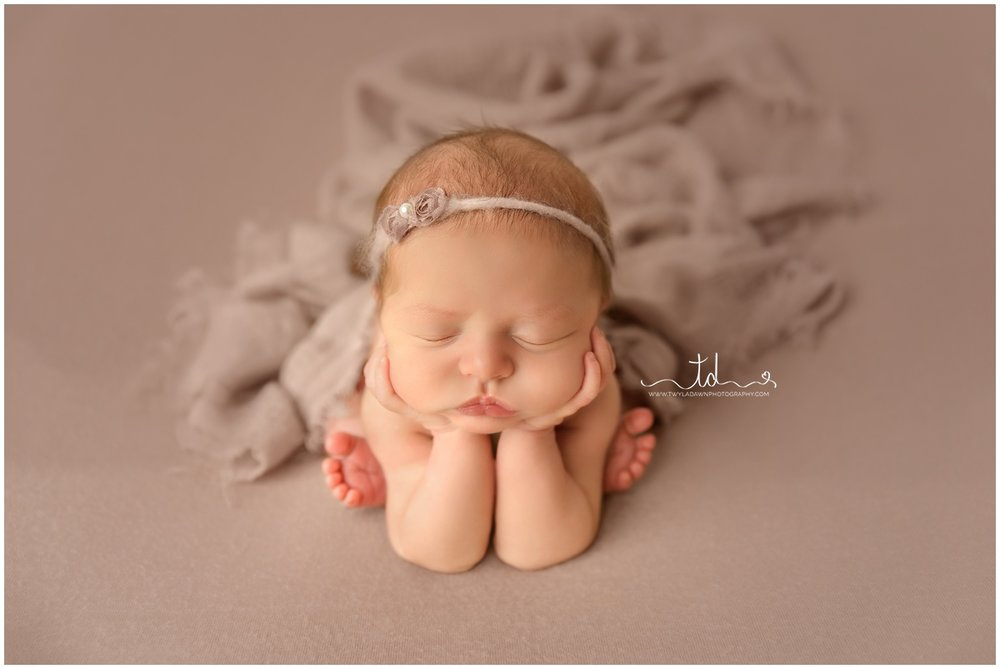 Mauve newborn session | Utah Newborn Photographer #twyladawnphotography