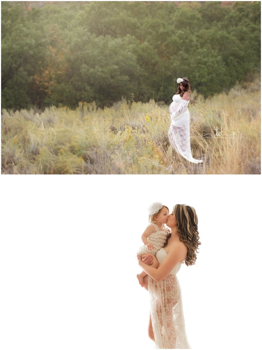 The Valerie Maternity Gown | Twyla Dawn Photography