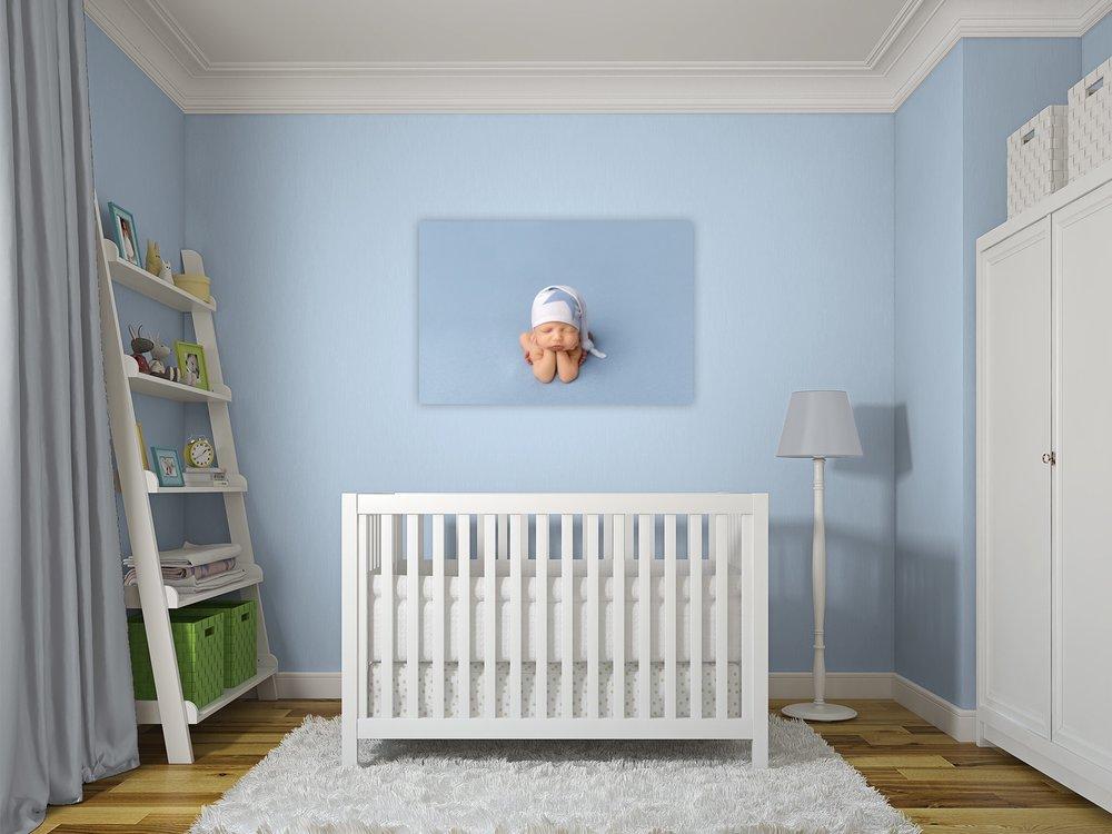 Baby Nursery Wall Gallery | Newborn Photography in Utah #twyladawnphotography
