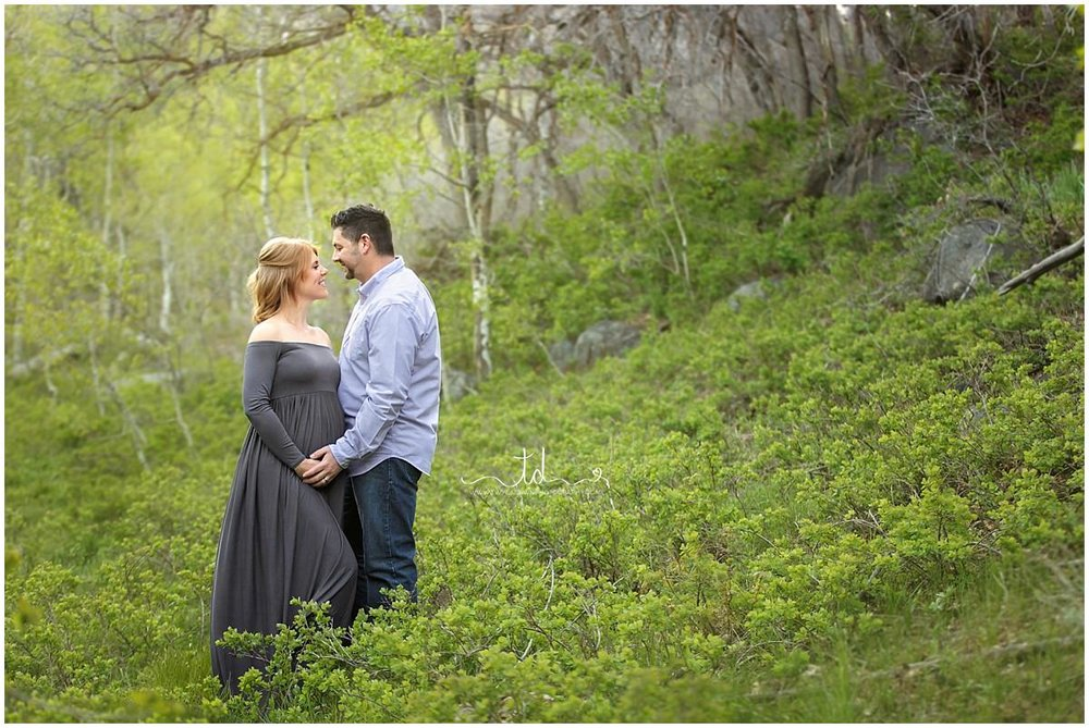 Utah Maternity Photographer | Park City Utah Maternity | Maternity Gown Collection #TwylaDawnPhotography