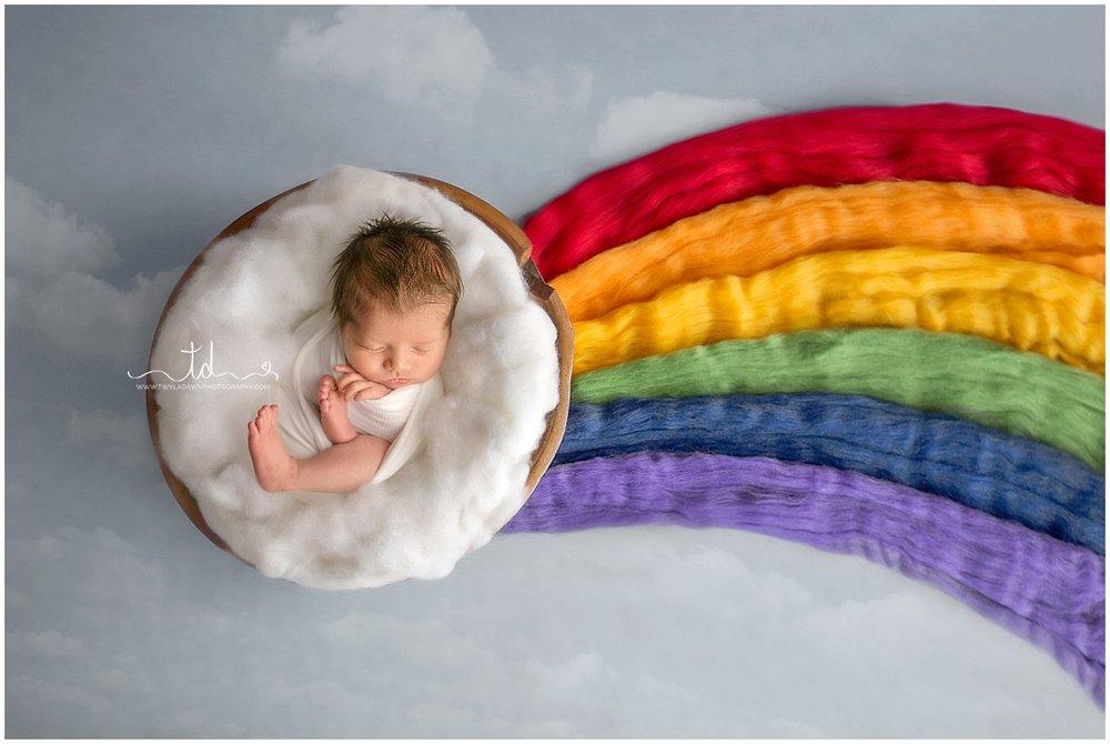 Utah Newborn Photographer | Rainbow Baby Boy | Newborn Session #twyladawnphotography
