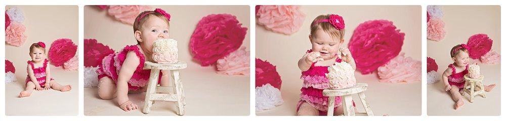 Utah child photographer | Utah cake smash session | Utah baby photographer