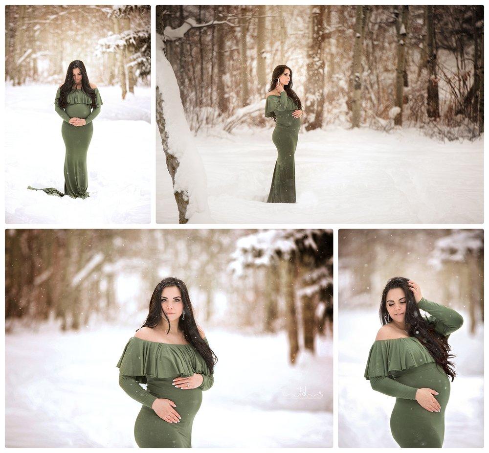 Utah Maternity photographer | Utah pregnancy photography | Salt Lake City Maternity Photographer | Park City Winter Maternity Portraits | Winter pregnancy pics #twyladawnphotography