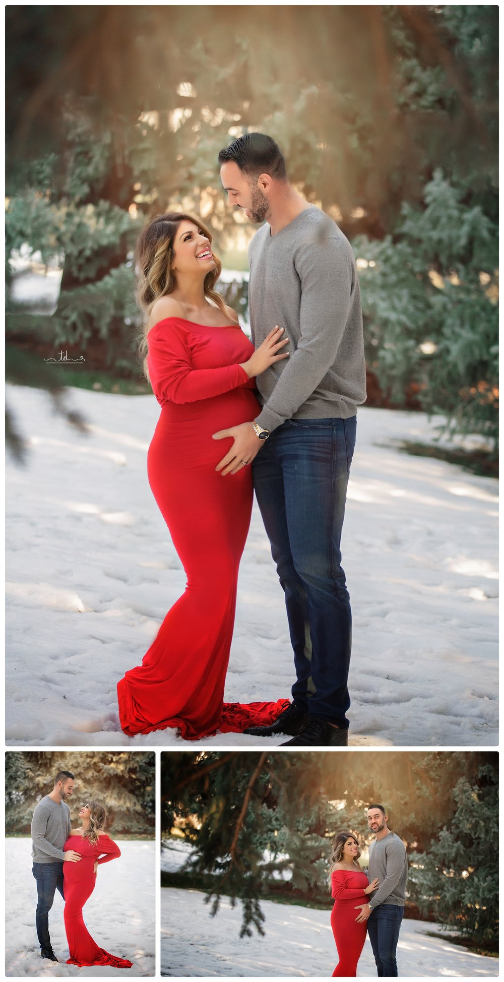 Nineveh Maternity Session | Utah Maternity photographer | Utah pregnancy photography | Salt Lake City Maternity Photographer | Park City Winter Maternity Portraits | Winter pregnancy pics #twyladawnphotography