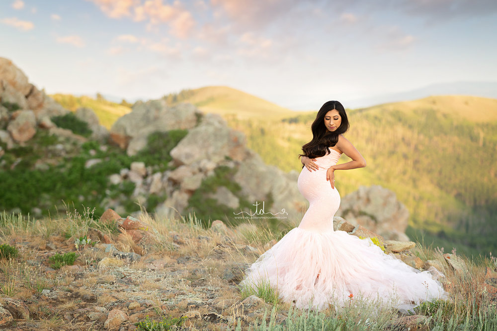 Utah Maternity Photographer | Salt Lake Maternity Photographer | Utah Maternity Gown Photographer