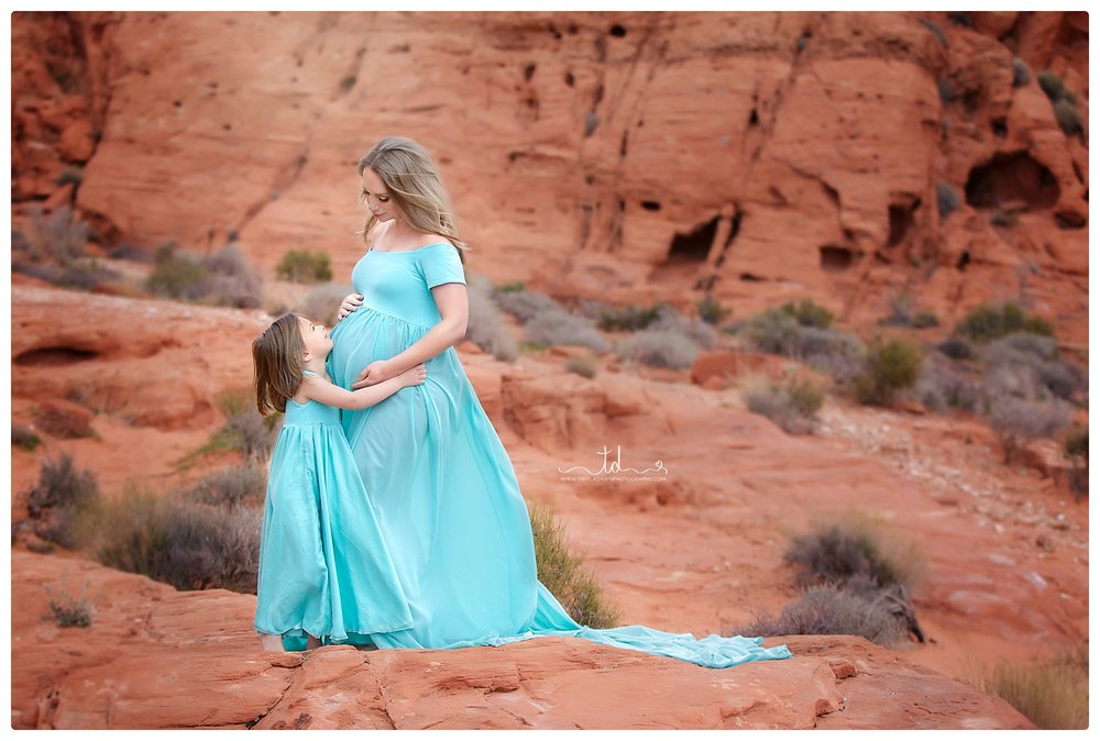 THE CAMERON - TIFFANY BLUE CHIFFON OFF SHOULDER, FLOWY GOWN. AVAILALBLE IN MOMMY & ME